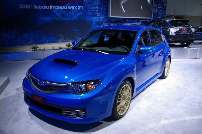 Subaru impreza wrx sti — синяя птица
