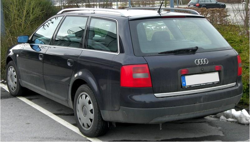 audi a6 c5 avant алюминиевые части кузова