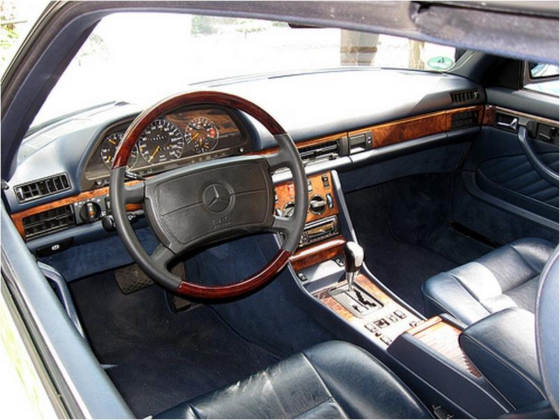 Mercedes S-class W126 - характеристики, оснащение | AutoBelyavcev ...