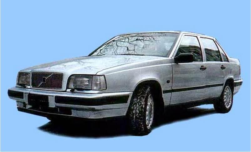 с какого года выпускалась volvo 850
