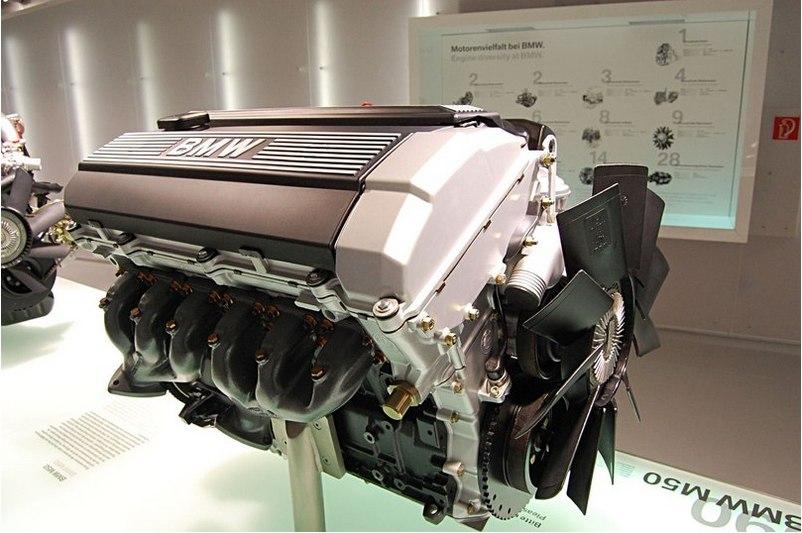 с BMW E34 525 позволил на