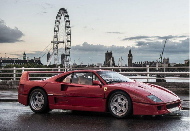 Самая первая Ferrari F50 продается